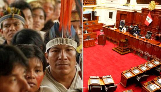 Congreso no aprobó propuesta para Pleno de Pueblos y Ambiente